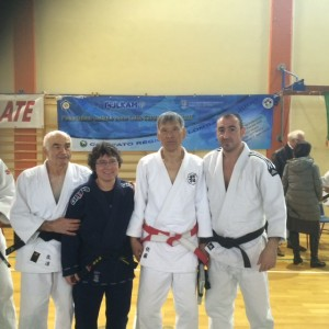 Meeting con il M. TADASHI SATO presso judo club Gavirate 22 marzo 2015